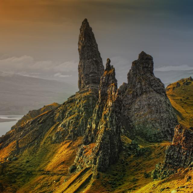Rock Scotland Isle Of Skye Old Man Of Storr 39340