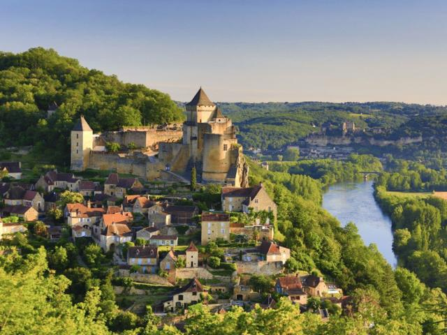 Vallée de la Dordogne : Château de Castelnaud