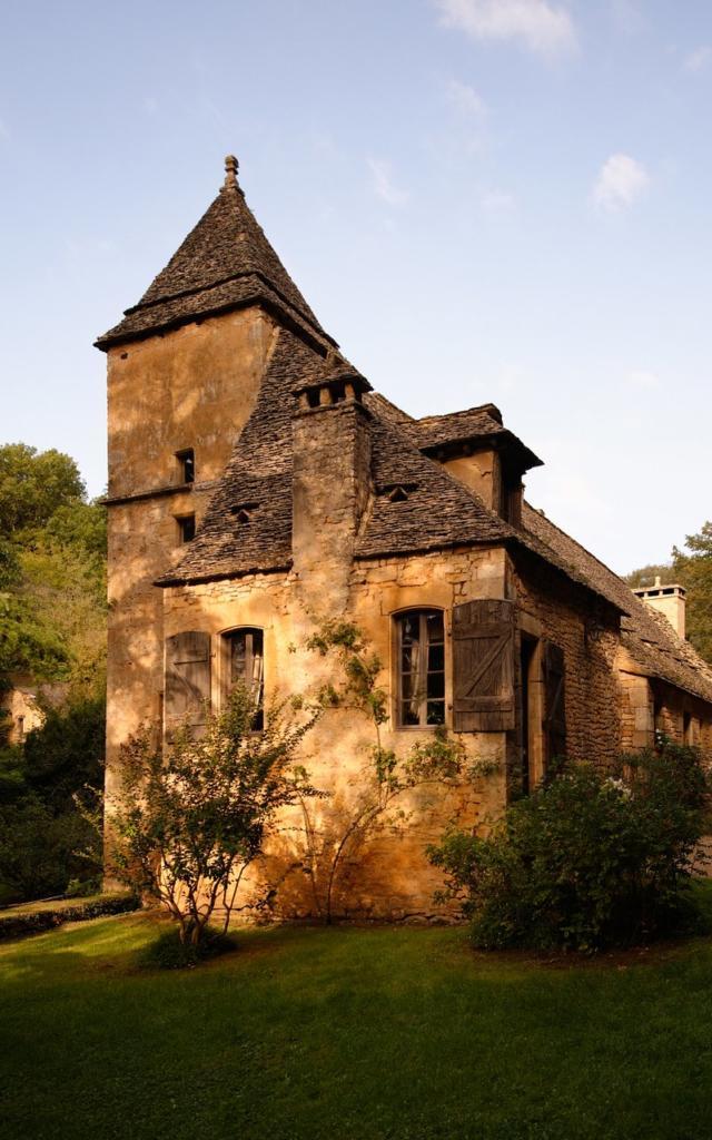 Façade Arriéré du Château reconstruite