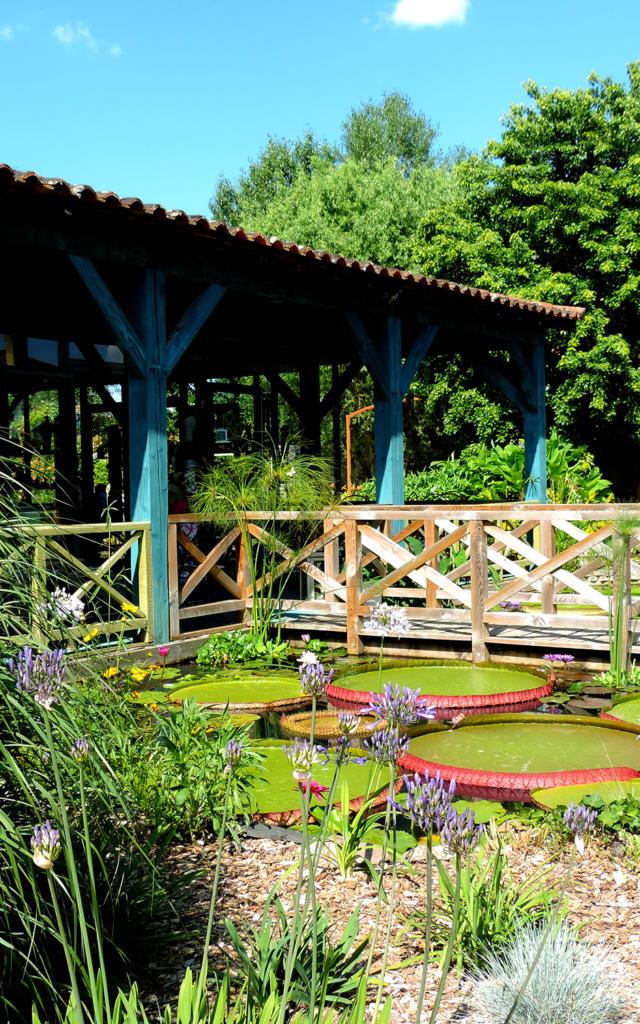 Accueil pavillon des Jardins d'Eau