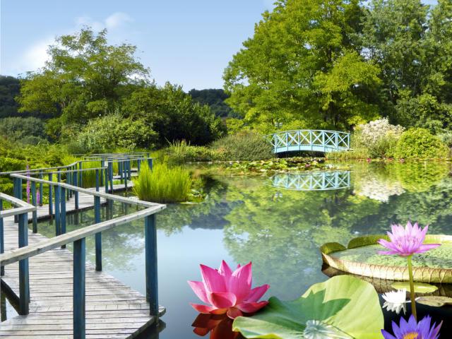 Jardins d'eau de Carsac Guide Touristique 2018