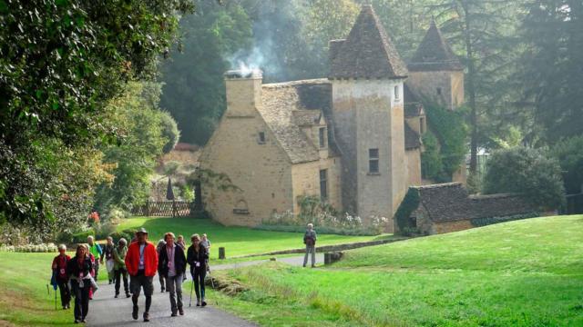 Ronde des Villages, château de Lacypierre