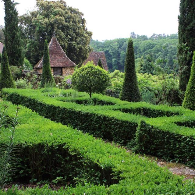 Les Jardins De Cadiot Jardin Toscan