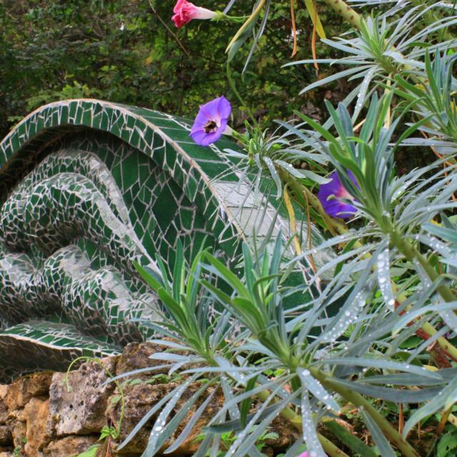 Les Jardins De Cadiot Sculpture Ondine