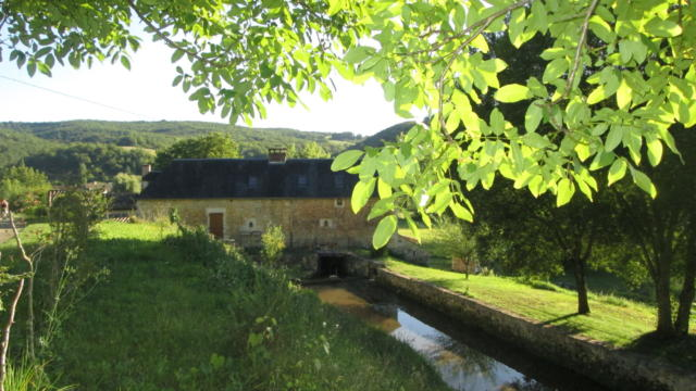 Le moulin de Dalles