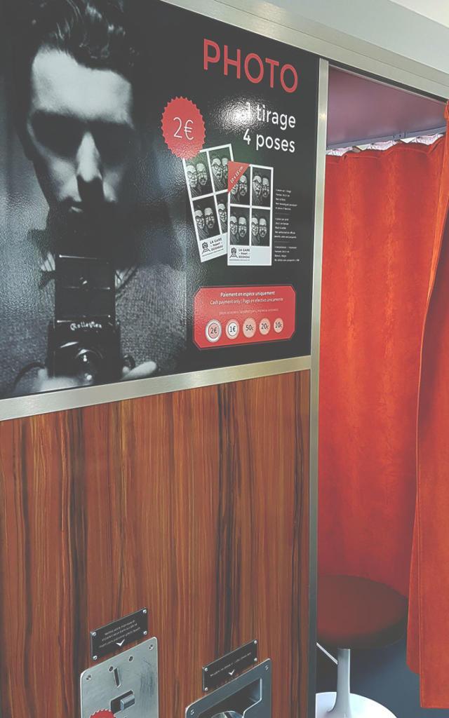 Photomaton Gare Robert Doisneau