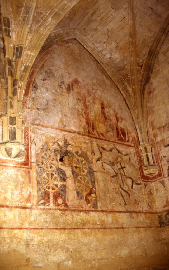 Peintures Murales Chapelle Saint Genies