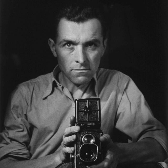 Robert Doisneau Autoportrait Rolleiflex 1947 Hd