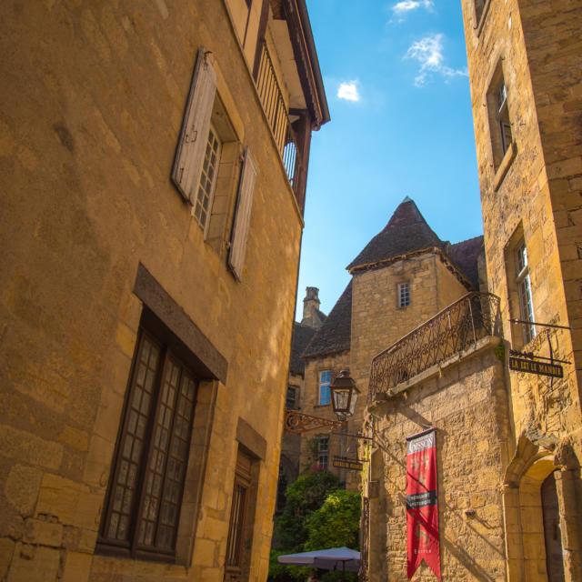 Rues De Pierres Ocres De Sarlat