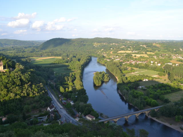 Paysage de la Vallée de la Dordogne