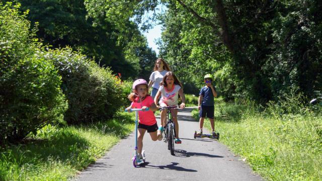 Vélo et voie verte en Périgord Noir
