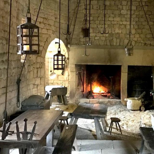 Chateau De Beynac Cuisine